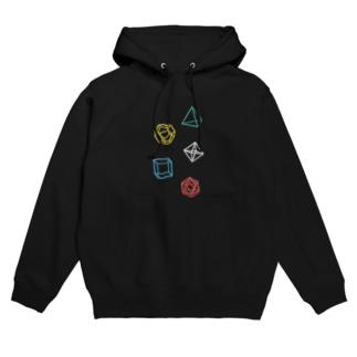Regular Polyhedron フーディ