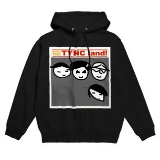 THE TYNC land フーディ
