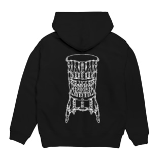 Dead Man's Chair-Memento Mori(濃色向け) Hoodies
