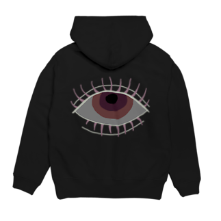 edamiのlonely eye Hoodies