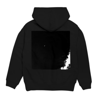 moon and cross Hoodies