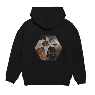 Ash Wolves Hoodies
