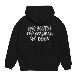 One Scotch, One Bourbon, One Beer Hoodies