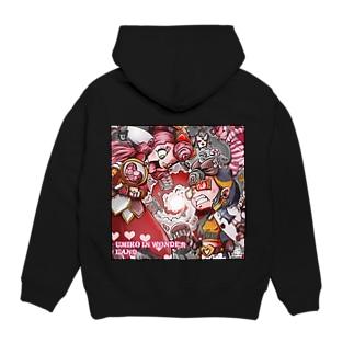 海子とピンクのワンダーランド! Hoodies