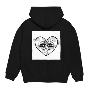 Broken heart Hoodies