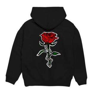 鎖と薔薇 パーカー Hoodies