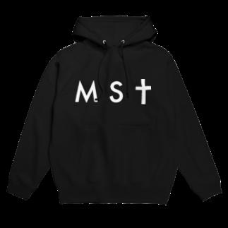 masatoの【S&Mサイズ用】masato#0 白MSTフーディ Hoodies