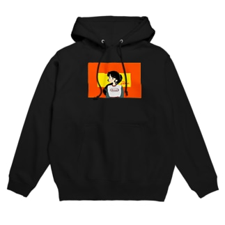 flat chested Hoodies