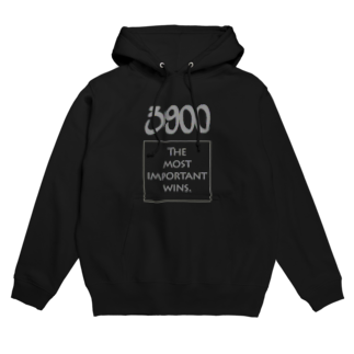wlmのPOINTS 3900 Gray Hoodies