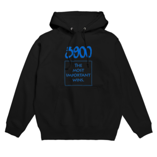 wlmのPOINTS - 3900 Blue Hoodies