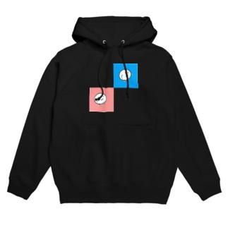 Yotani(Blue&Pink) Hoodies