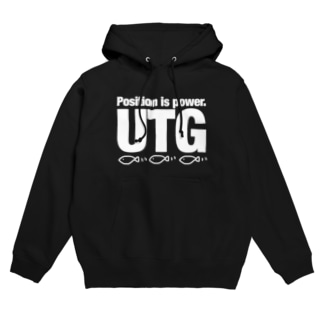 UTG 白文字 Hoodies