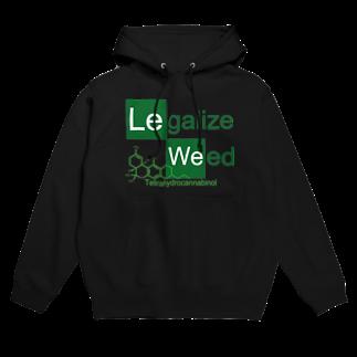 Legalize It ! のCK - THC Hoodies