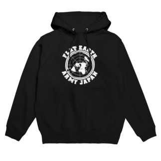 g3p 中央町戦術工藝のFLAT EARTH ARMY JAPAN Hoodies