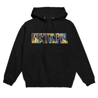 MENTANPIN(スプラッシュペイント) Hoodies