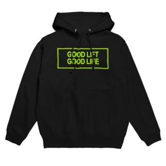 GOOD LIFT GOOD LIFE Hoodies