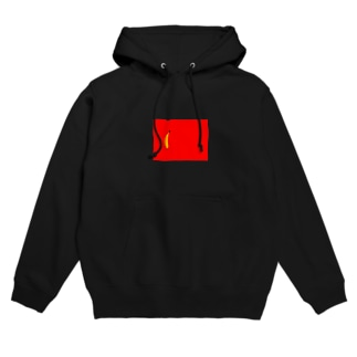 banana in the red area Hoodies