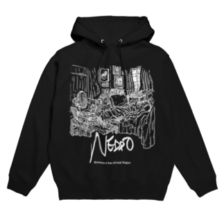 002/011/NEDDO_black Hoodies