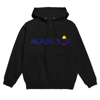 ALIEN POO Hoodies