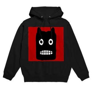【 黒鬼: Black demon 】 Hoodies
