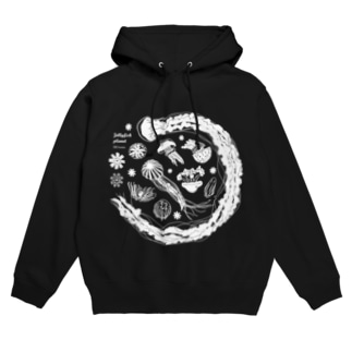 Jellyfish planet(クラゲの惑星) Hoodies