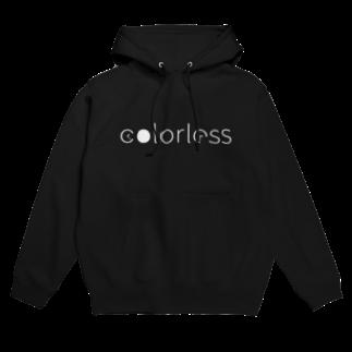 今日から皆karatoの105-colorless白ロゴ Hoodies