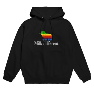 Milk Different. Hoodies