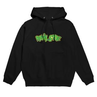 Rowl Side HulkHogan font hoodie Hoodies