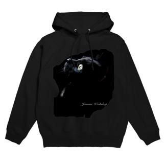 BLACK CATパーカー Hoodies