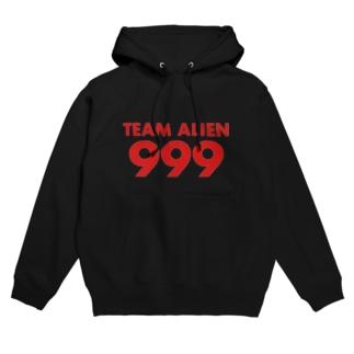 TEAM ALIEN 999  Hoodies