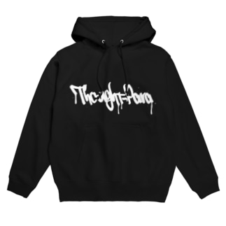 THOUGHTPARA STREET WHITELOGO Hoodies