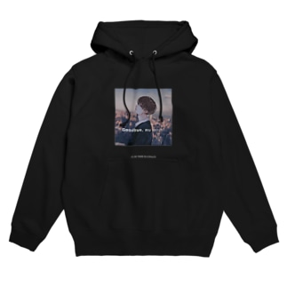 I'LL BE THERE IN A MINUTE Hoodies