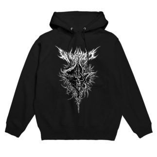 SKULL(BLACK) Hoodies