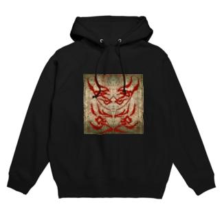 双子兎派(RED) Hoodies