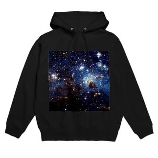 大マゼラン星雲にある星形成領域、LH95 Hoodies