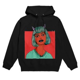 Devil Girl Hoodies