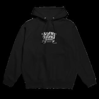 ISLAND BOARSのIB apparel WHITE Hoodies