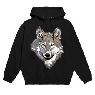 「Bloodthirsty Wolf」 Hoodies
