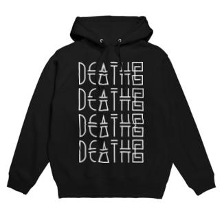 DEATH© / BIG hoodie Hoodies