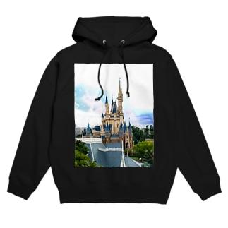 Disney castle Hoodies