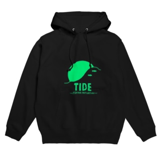 "TIDE ""GREEN"" Hoodies"
