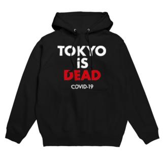 TOKYO iS DEAD COVID-19 Hoodies
