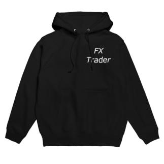 FXトレーダー用 白文字 Hoodies