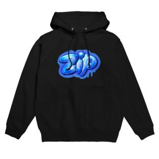zip ジップ 123 Hoodies