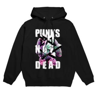 PUNKS NOT DEAD Hoodies