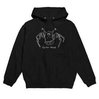 spider head(スパイダーヘッド) Hoodies