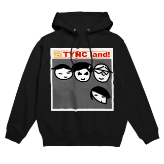 Kekyo & Yoritan RECORDSのTHE TYNC land フーディ