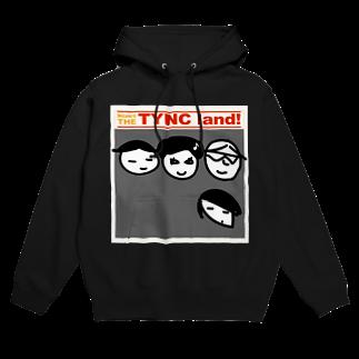 Kekyo & Yoritan RECORDSのTHE TYNC land Hoodies