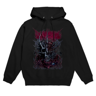Brutal Slull(COLOR) Hoodies