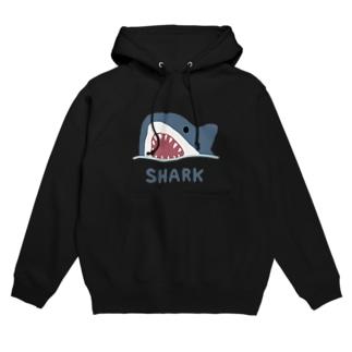 サメ Hoodies